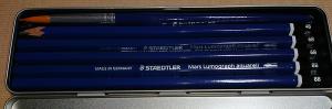 マルス ルモグラフ アクェレル 水彩鉛筆(内部)
