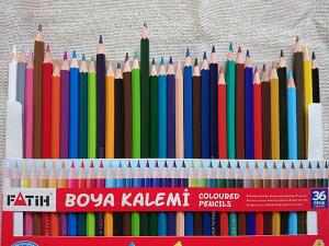 FATIHの色鉛筆