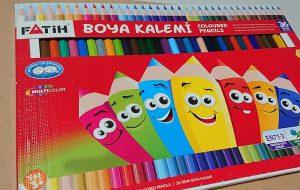 トルコの色鉛筆